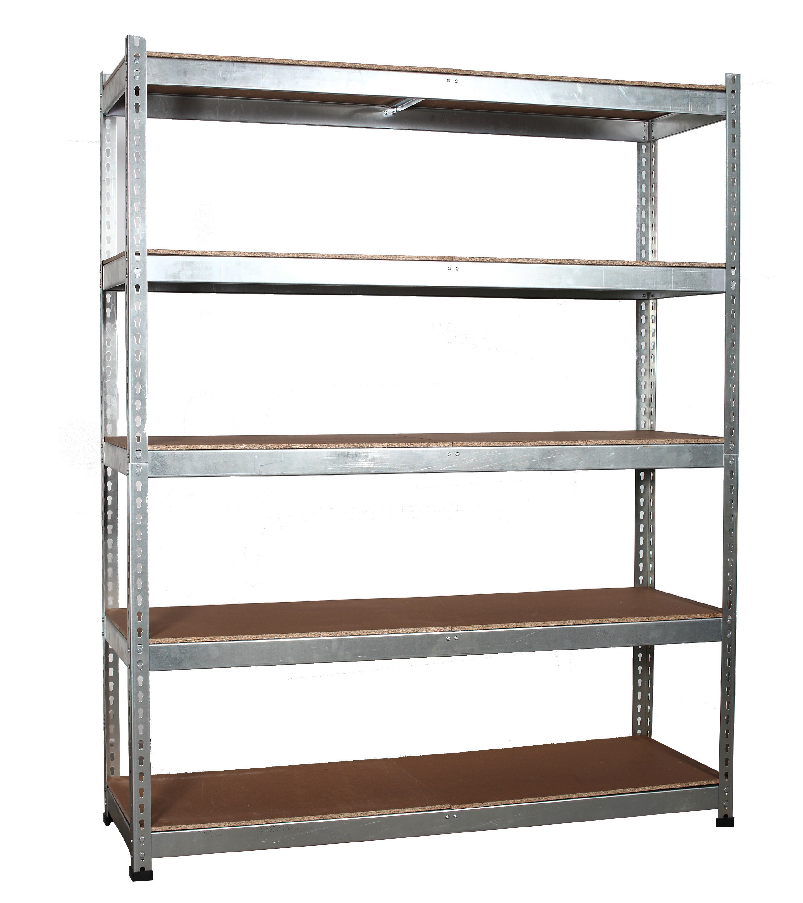 Aluminum Bookcase Workshop Garage Warehouse Shed Storage Shelf Racking Unit