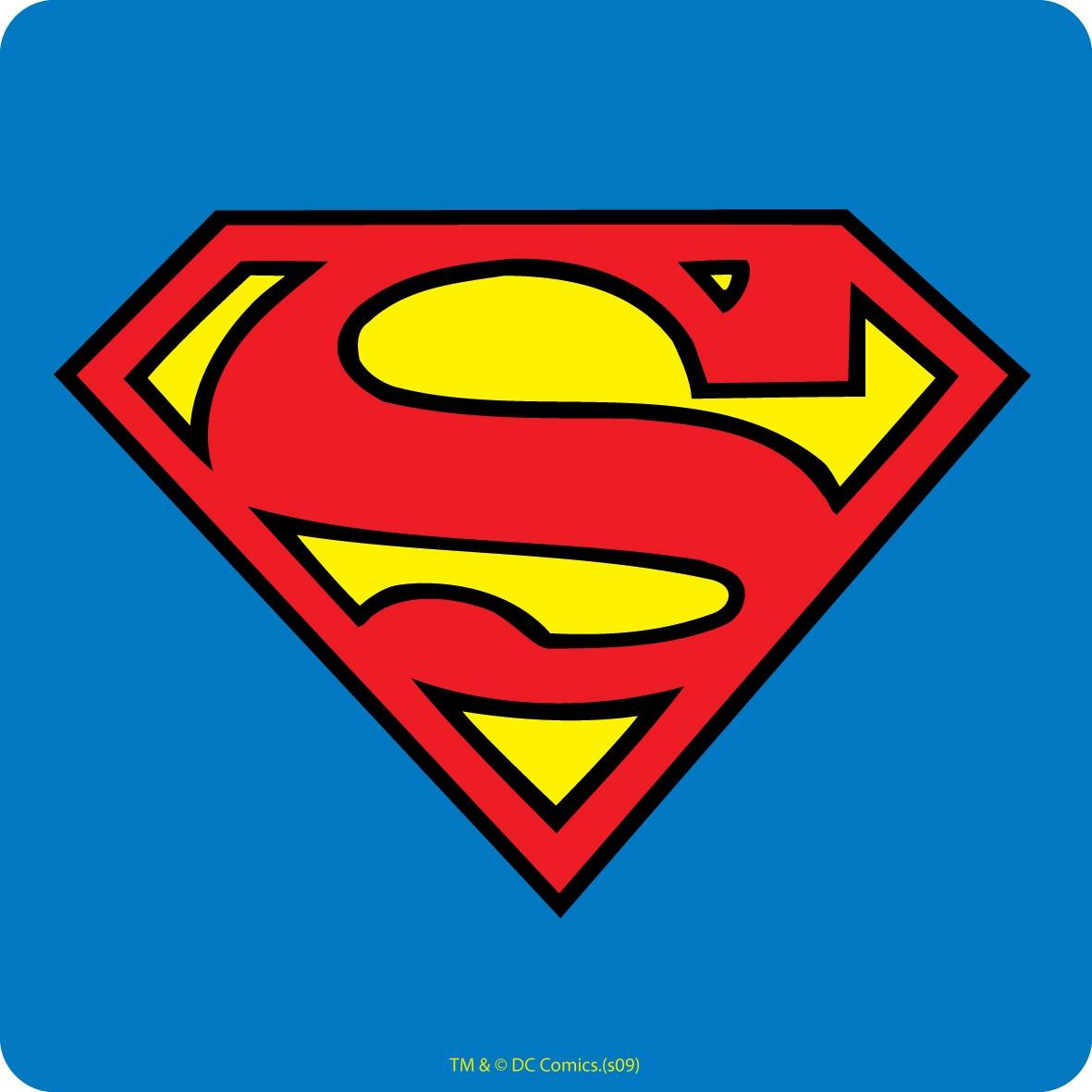 superman alphabet template