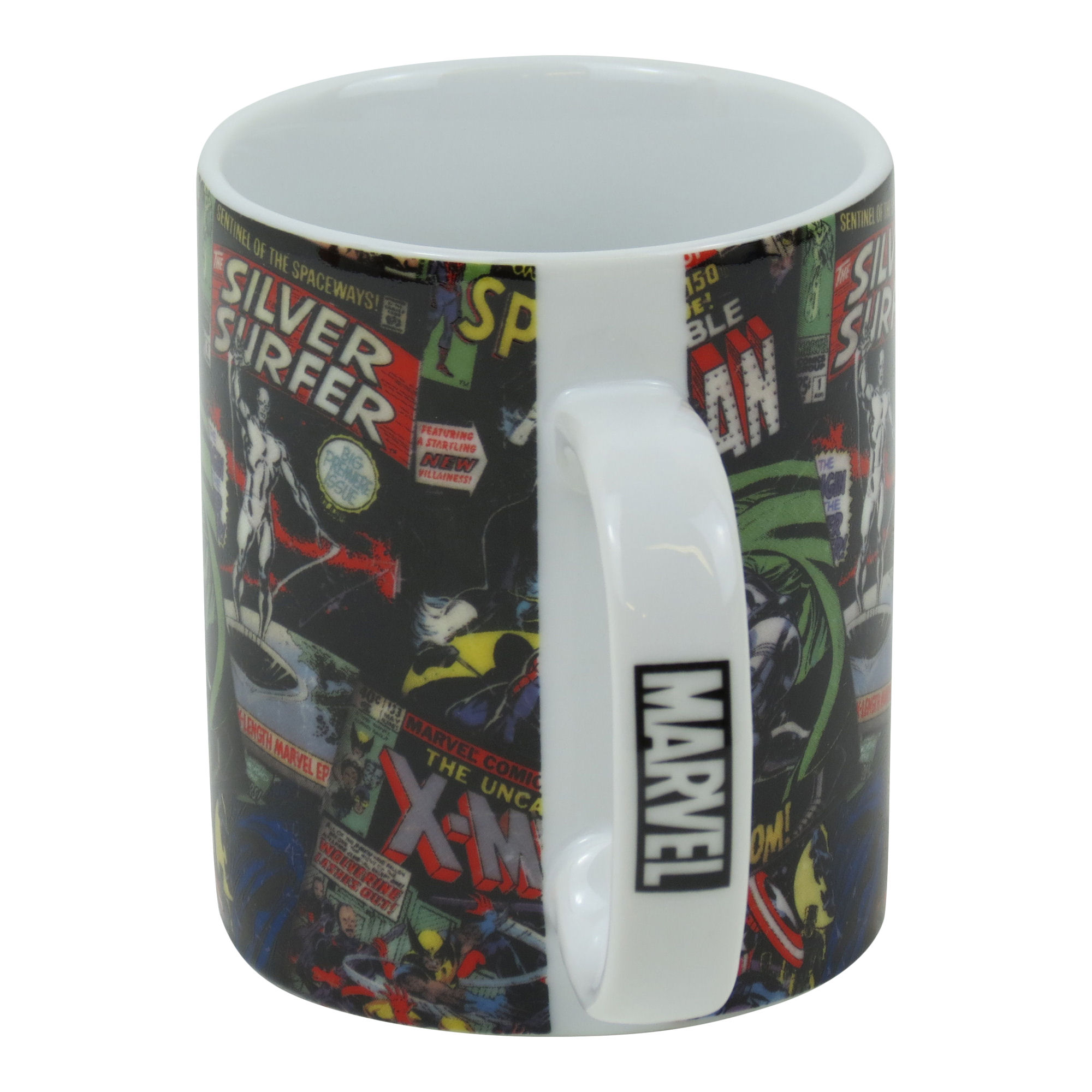 Men Coffee Cups Marvel Black Comic Covers Boxed Mug Ceramic Coffee Cup Tea