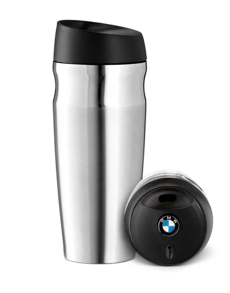 Trinkbecher Mit Deckel Bmw Logo Genuine Premium Thermo Tumbler Travel/takeaway