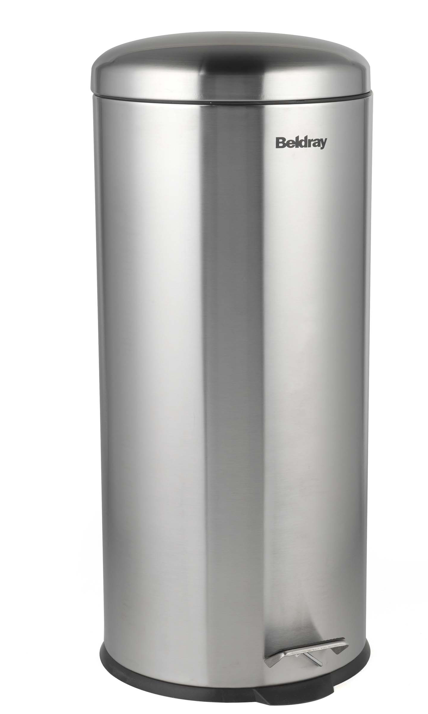 Kitchen Tidy Bins Beldray La038074ss 30 Litre Stainless Steel Kitchen Bin With Soft Closing Lid