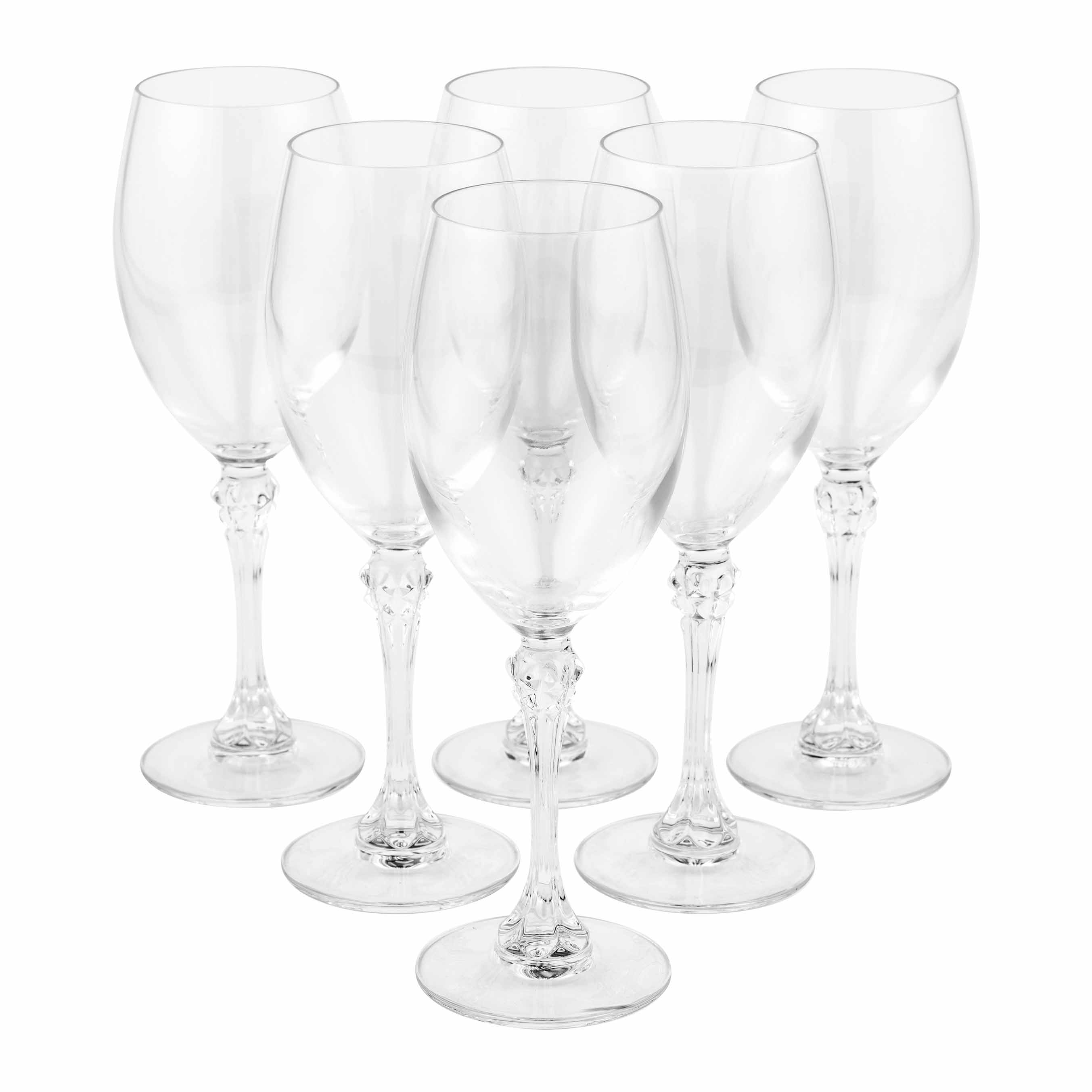 Luminarc Glass Luminarc Combo 2170 Poetic 35 Cl Wine Glasses Pack Of 6
