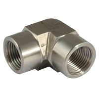 "316 PRECISION PIPE FITTINGS - 1"" NPT FEMALE 316 ELBOW 1 ..."