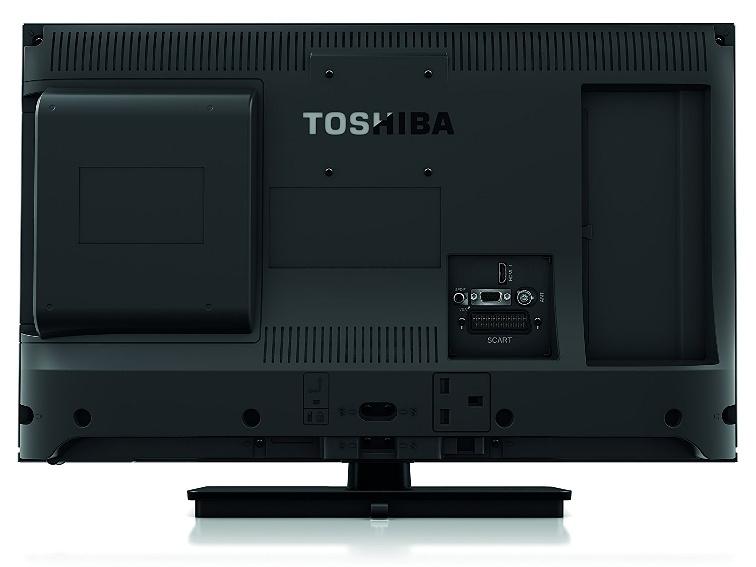 24 Im Tv Toshiba 24d1533db 24 Inch Widescreen Led Tv With Built In