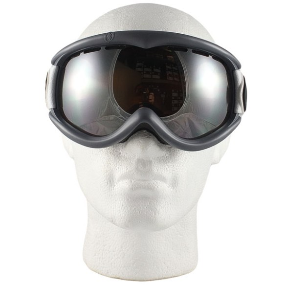 Electric EG1S snowboard ski goggles 2012 in Pat Moore Bronze Silver Chrome