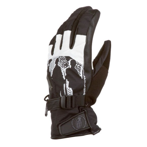 Grenade Apache snowboard Ski Gloves 2012 in White