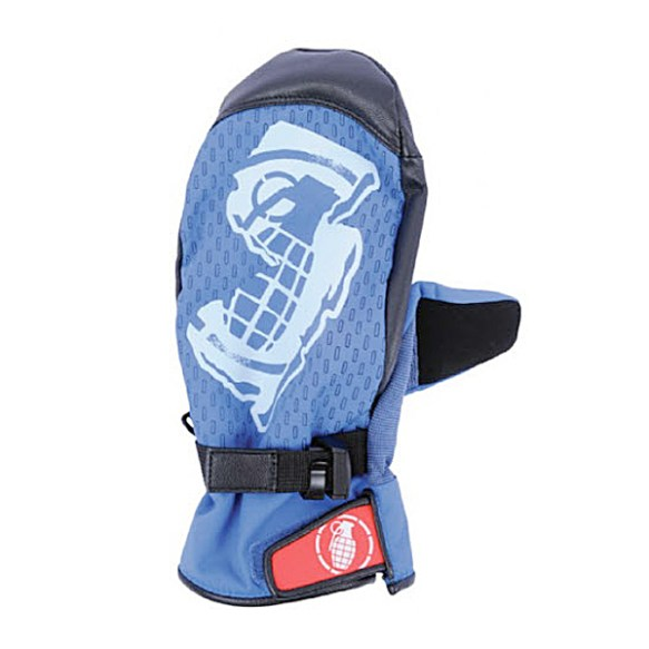 Grenade Pro Model Mitts snowboard Gloves Pipe 2011 in Kass Blue