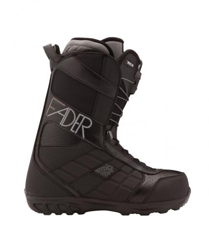 Nitro Fader TLS Womens Snowboard Boots 2012 in Black UK 5