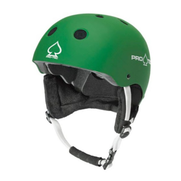 ProTec Classic Snowboard Ski Helmet 2011 in Green