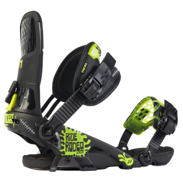 Ride Rodeo Snowboard Bindings 2012 in Black
