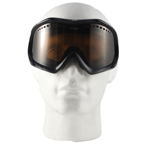 Vonzipper Bushwick snowboard ski goggles 2009 in Black with Bronze lens
