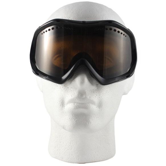Vonzipper Bushwick snowboard ski goggles 2011 in Black Gloss with Bronze lens