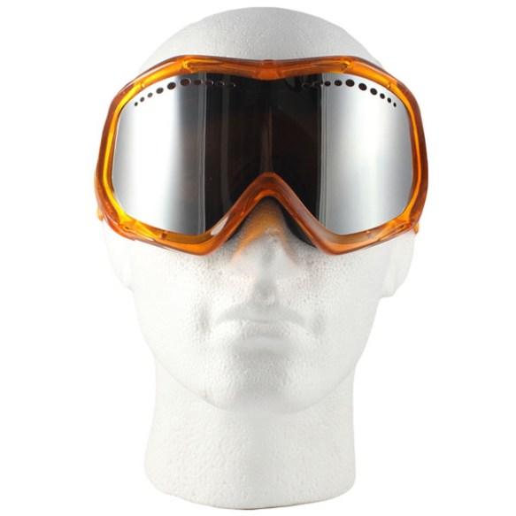 Von Zipper Bushwick snowboard Ski Goggles 2012 in Tangerine Bronze Chrome lens