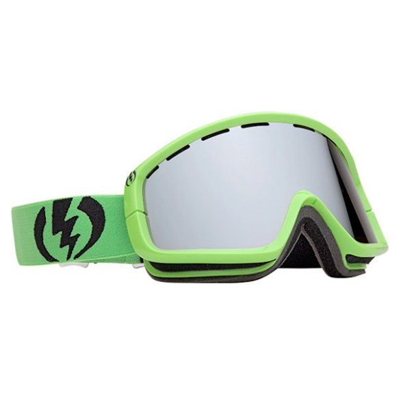Electric EGB2 Snowboard Ski Goggles 2012 in Lime Bronze Silver Chrome