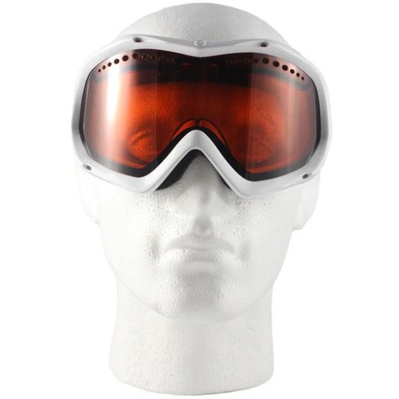 Von Zipper Bushwick snowboard Ski Goggles 2012 in White Gloss Amber