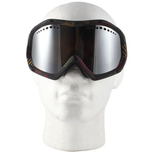 Von Zipper Bushwick snowboard Ski Goggles 2012 in Bob Marley Bronze Chrome