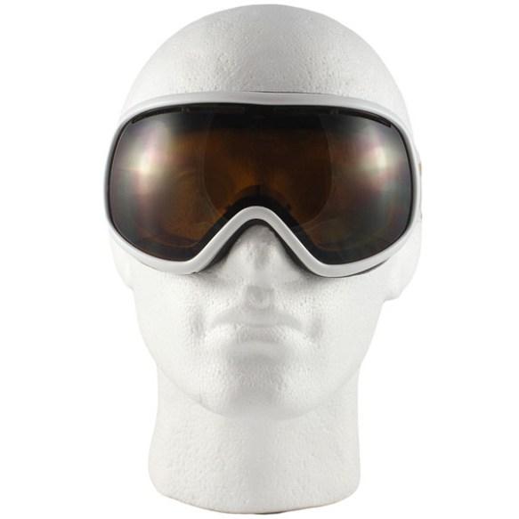 Von Zipper Chakra snowboard ski goggles 2012 in White Gloss Bronze