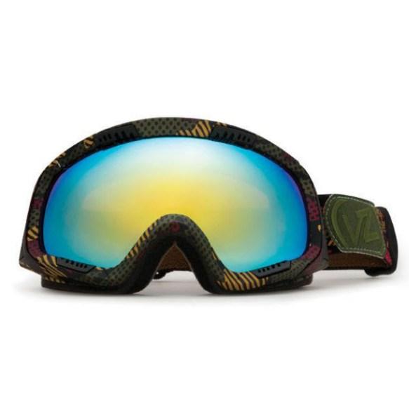 Von Zipper Feenom snowboard ski goggles 2012 in Bob Marley Locust Chrome lens