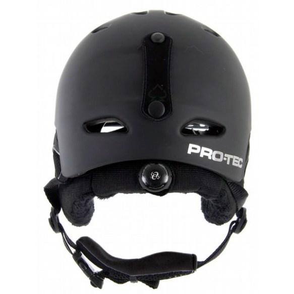 ProTec Vigilante Plantronic Audio Snowboard Helmet 2012 in Matte Black
