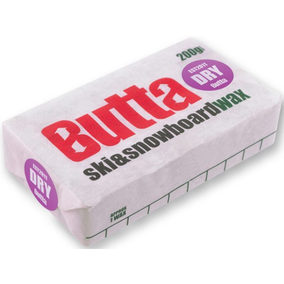 Butta Dry 200g Snowboard Ski Dry Slope Wax