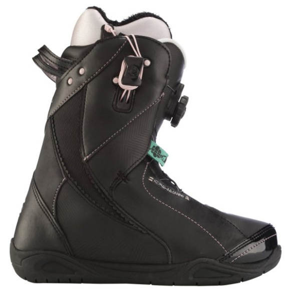 K2 Sapera BOA Womens Snowboard Boots New Black 2012 UK 5.5