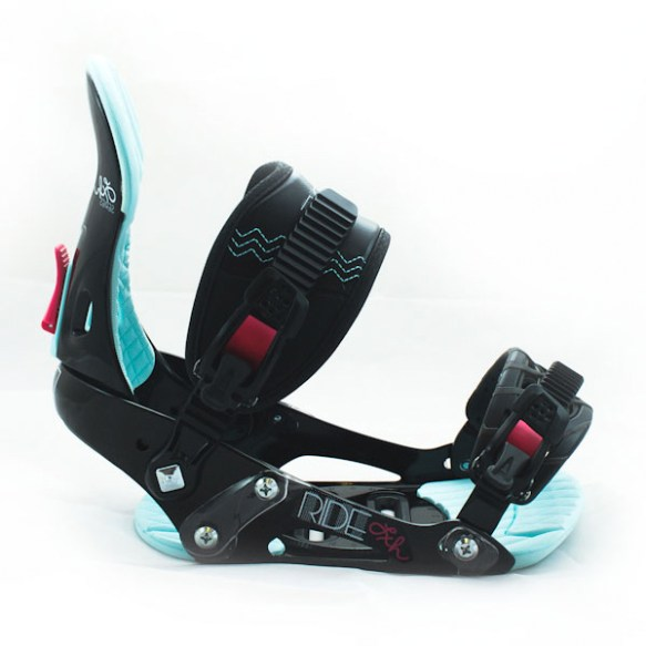 Ride LXH Womens Snowboard Bindings 2012 in Black various sizes