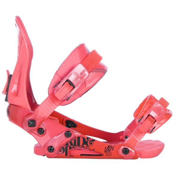 Ride VXN Womens Snowboard Bindings 2013 in Strawberry Red