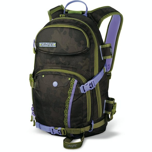 Dakine Womens Team Heli Pro 18L Annie Boulanger Snowboard Back Pack Bag 2012