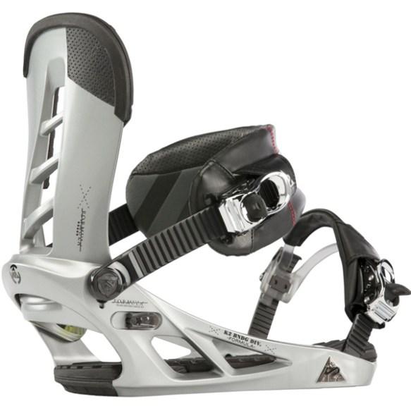 K2 Formula Snowboard Bindings 2013 in Silver