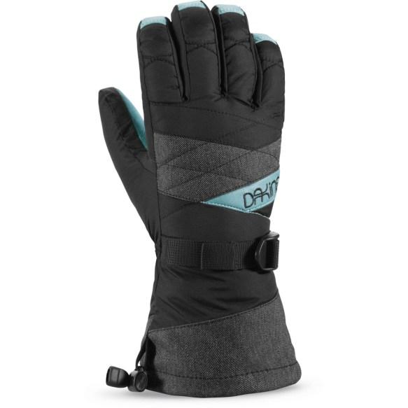 Dakine Womens Tahoe Snowboard Ski Gloves 2015 Denim Medium