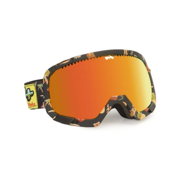 Spy Platoon Aloha Snowboard Ski Goggles Bronze Red Spectr 2013
