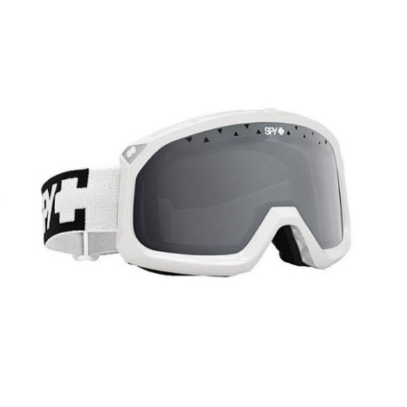 Spy Trevor White Snowboard Ski Goggles Bronze Silver Mirror 2013