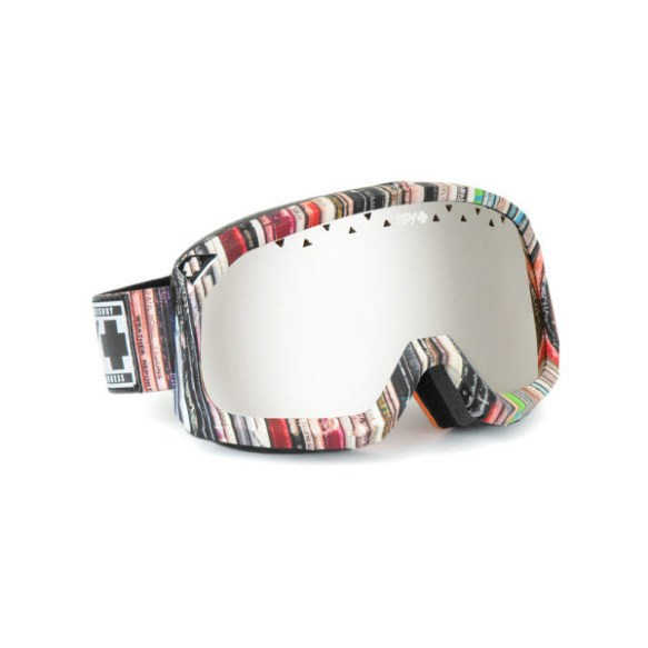 Spy Trevor Hi-Fi Snowboard Ski Goggles Bronze Silver Mirror 2013