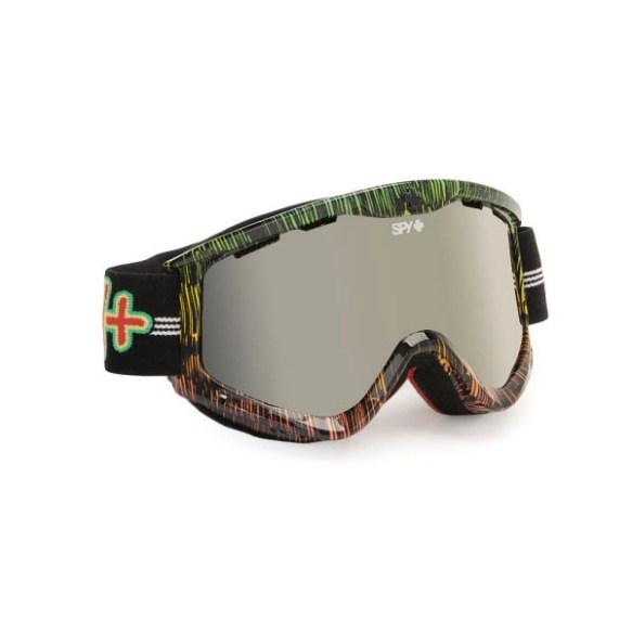 Spy Targa 3 Sailin On Snowboard Ski Goggles Yellow Silver Mirror 2013