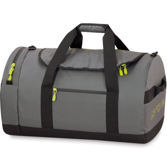 Dakine Crew Duffle 67L 2014 Charcoal Travel Bag Luggage