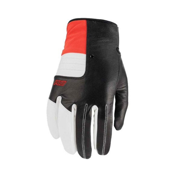 Pow Gloves Villain Snowboard Ski Gloves 2013 in Red