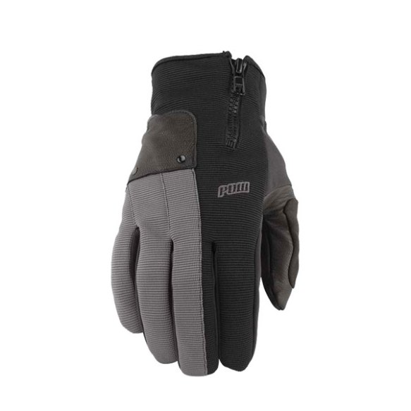 Pow Gloves Barker Snowboard Ski Gloves 2013 in Grey