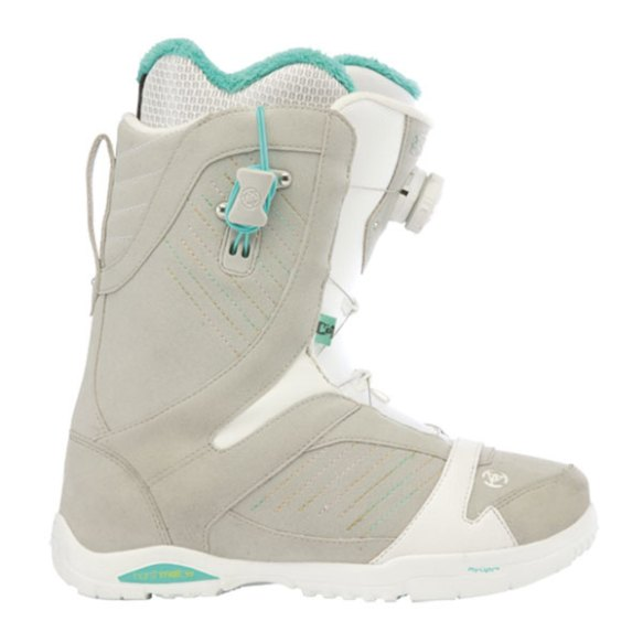 K2 Sapera BOA Womens Snowboard Boots 2013 in Grey