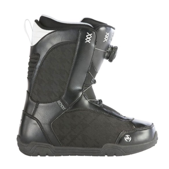 K2 Sendit BOA Womens Snowboard Boots Black 2013 Various Sizes