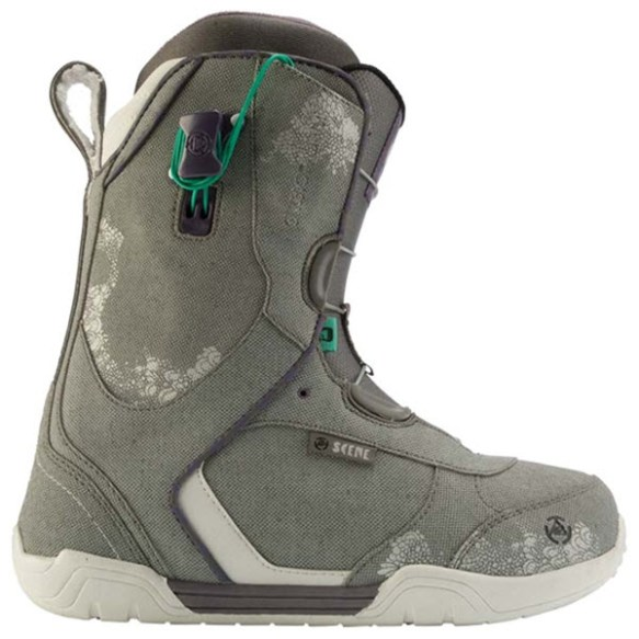 K2 Scene Womens Snowboard Boots 2012 in Grey