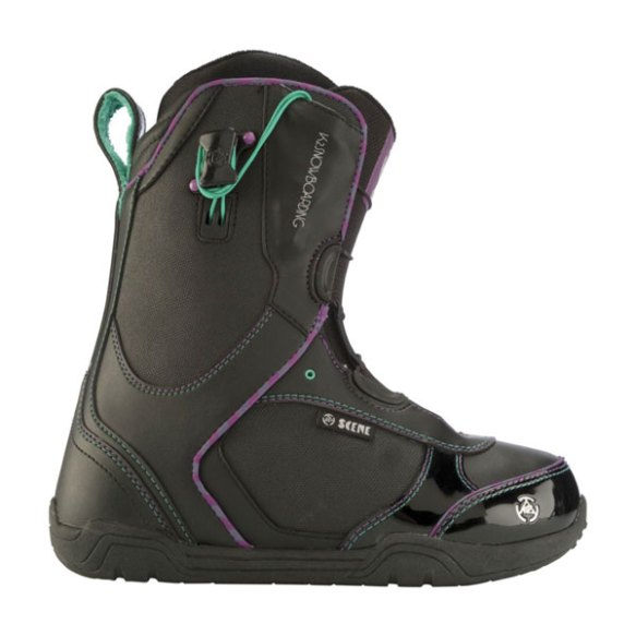 K2 Scene Womens Snowboard Boots 2012 In Black