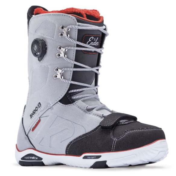 K2 Ender Mens Snowboard Boot 2014 Grey