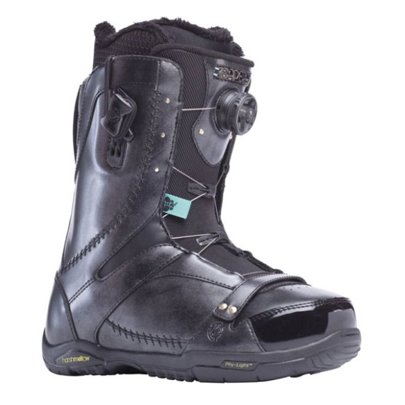 K2 Sapera BOA 2014 Sample Womens Snowboard Boots New Black Uk 5.5