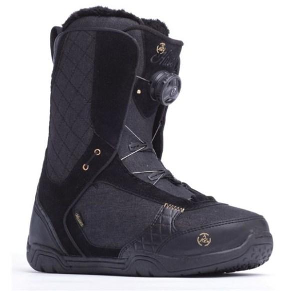 K2 Haven BOA 2014 Sample Womens Snowboard Boots New Black 2014 Uk 5.5