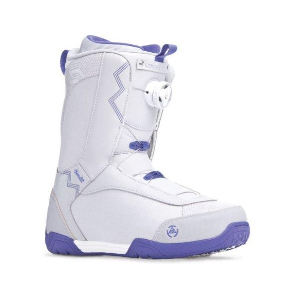 K2 Sendit BOA 2014 Sample Womens Snowboard Boots New Gray 2014 UK 5.5