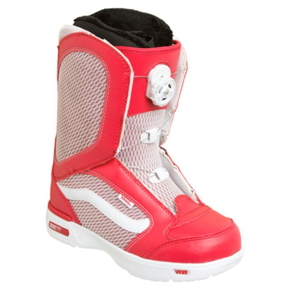 Vans Encore BOA Womens Snowboard Boots 2012 in Red White