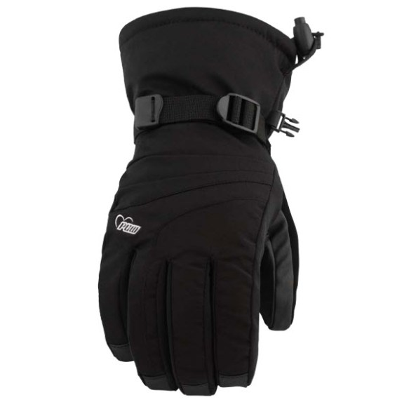 Pow Gloves Womens Falon Gloves Snowboard Ski New 2013 Black