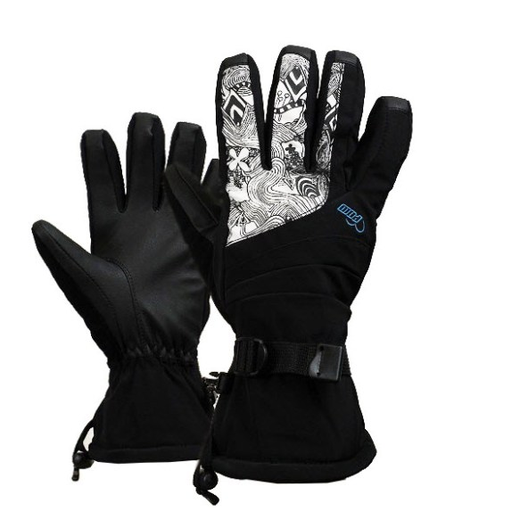 Pow Gloves Womens Falon Gloves Snowboard Ski New 2013 Blue