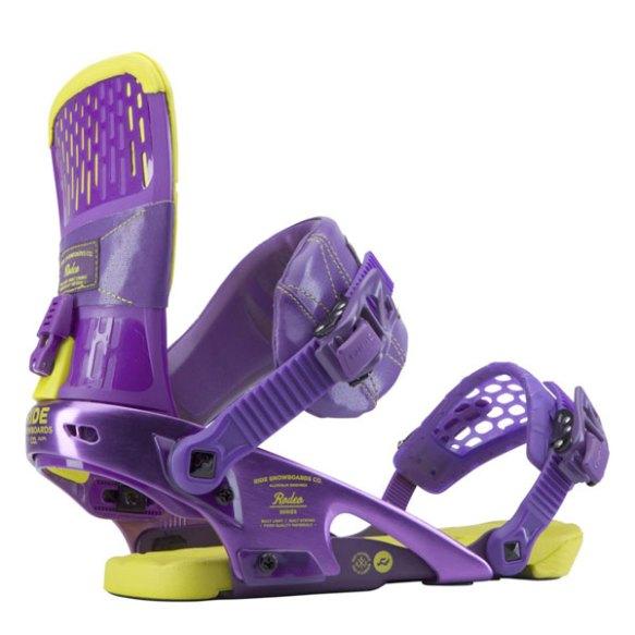 Ride Rodeo Snowboard bindings Purple 2014