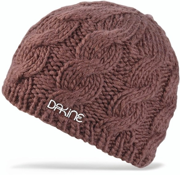 DaKine Womens Vine Beanie Hat in Chocolate Snowboard Ski 2013